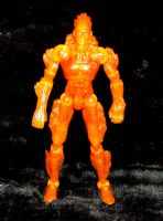 Fantastic Four Rise of the Silver Surfer: Human Torch (Blazing Stunt Bike) - Loose Action Figure